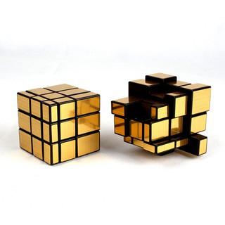 Đồ chơi Rubik Moyu 3x3x3 Mirror - Màu Vàng ( Rubk biến thể cao cấp) - Tặng chân đế Rubik thumbnail