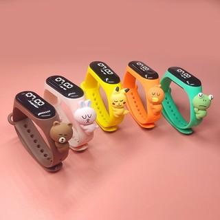[Mã FASHIONCB73 hoàn 10K xu 50K] Đồng hồ ZGO DISNEY bằng silicon thiết kế đáng yêu cho trẻ em