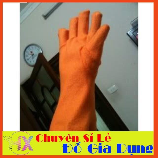 [BÃO GIẢM GIÁ] Găng tay cao su dài lót nỉ | SẢN PHẨM HOT