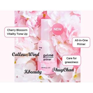 (BANILA-mẫu mới) Kem lót trang điểm nâng tone Banila Co Prime Primer Cherry Blossom Tone Up thumbnail