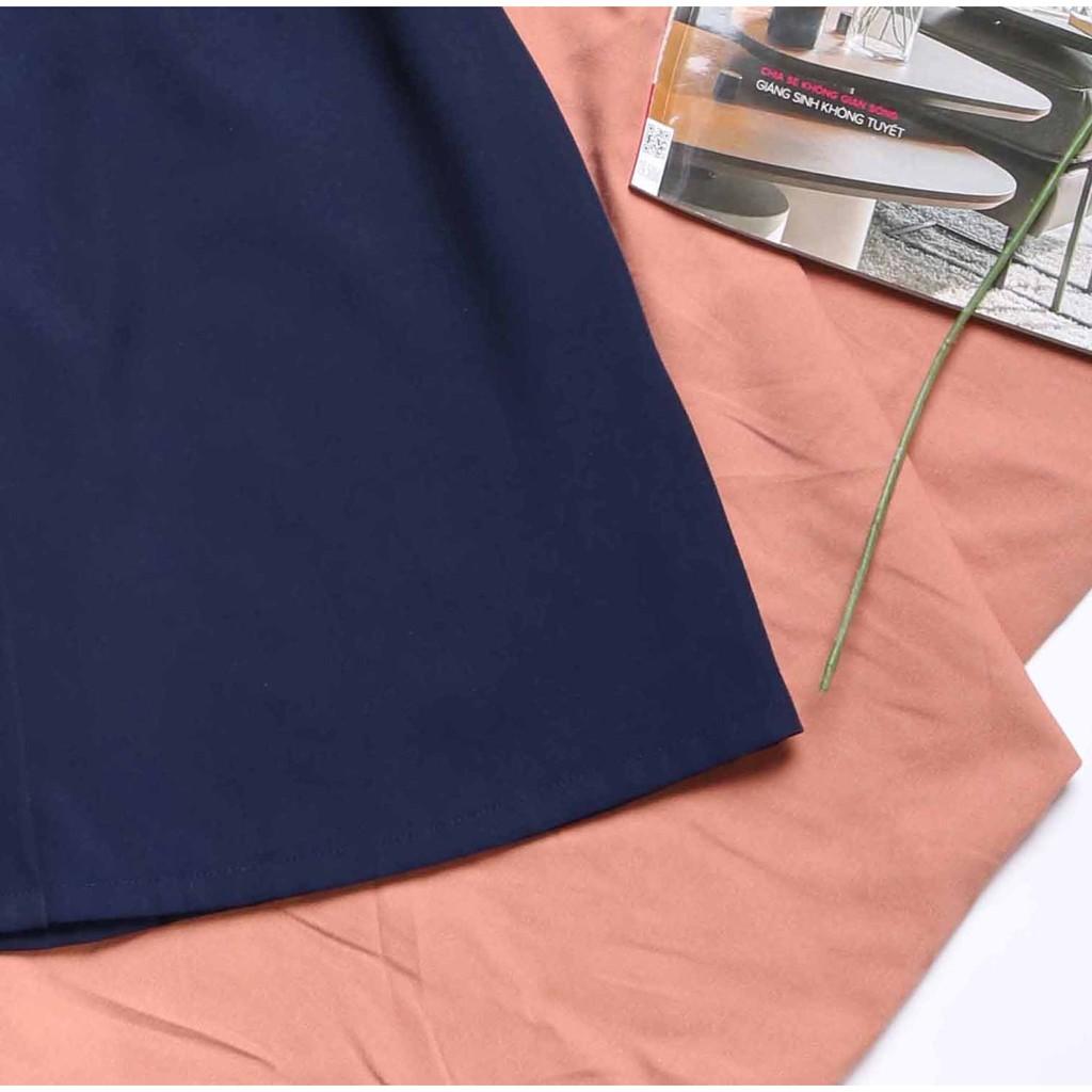 Mặc gì đẹp: Sang trọng với Đầm công sở nữ đính nơ cá tính cho nàng chân ngắn thiết kế dễ thương dáng chữ a tay ngắn
