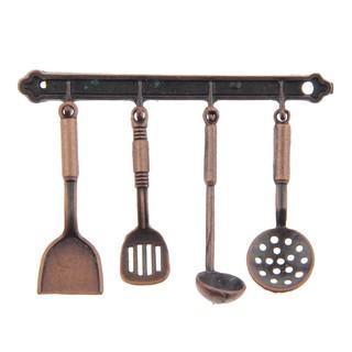 Bộ 5 dụng cụ nấu ăn tỉ lệ 1 12 dành cho búp bê đồ chơi