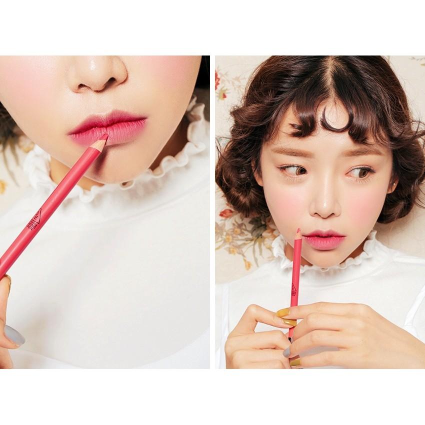 SALE OFF 55% - Son bút chi 3CE DRAWING LIP PENCIL - Hàn Quốc