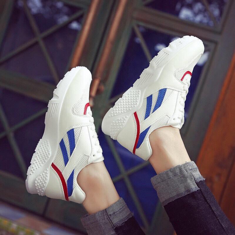⚡️GIÀY NỮ HOT 2018⚡️Giầy thể thao Sneaker cao cấp Nữ V03