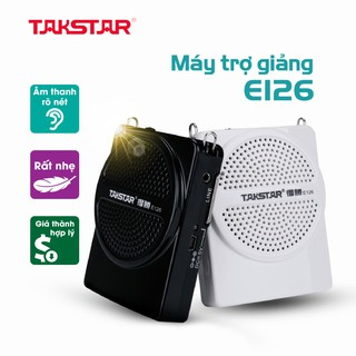 Chính hãng Takstar E126 loa mic Máy trợ giảng, loại có dây, mini, sạc nhanh, hướng dẫn viên, Giáo viên thumbnail