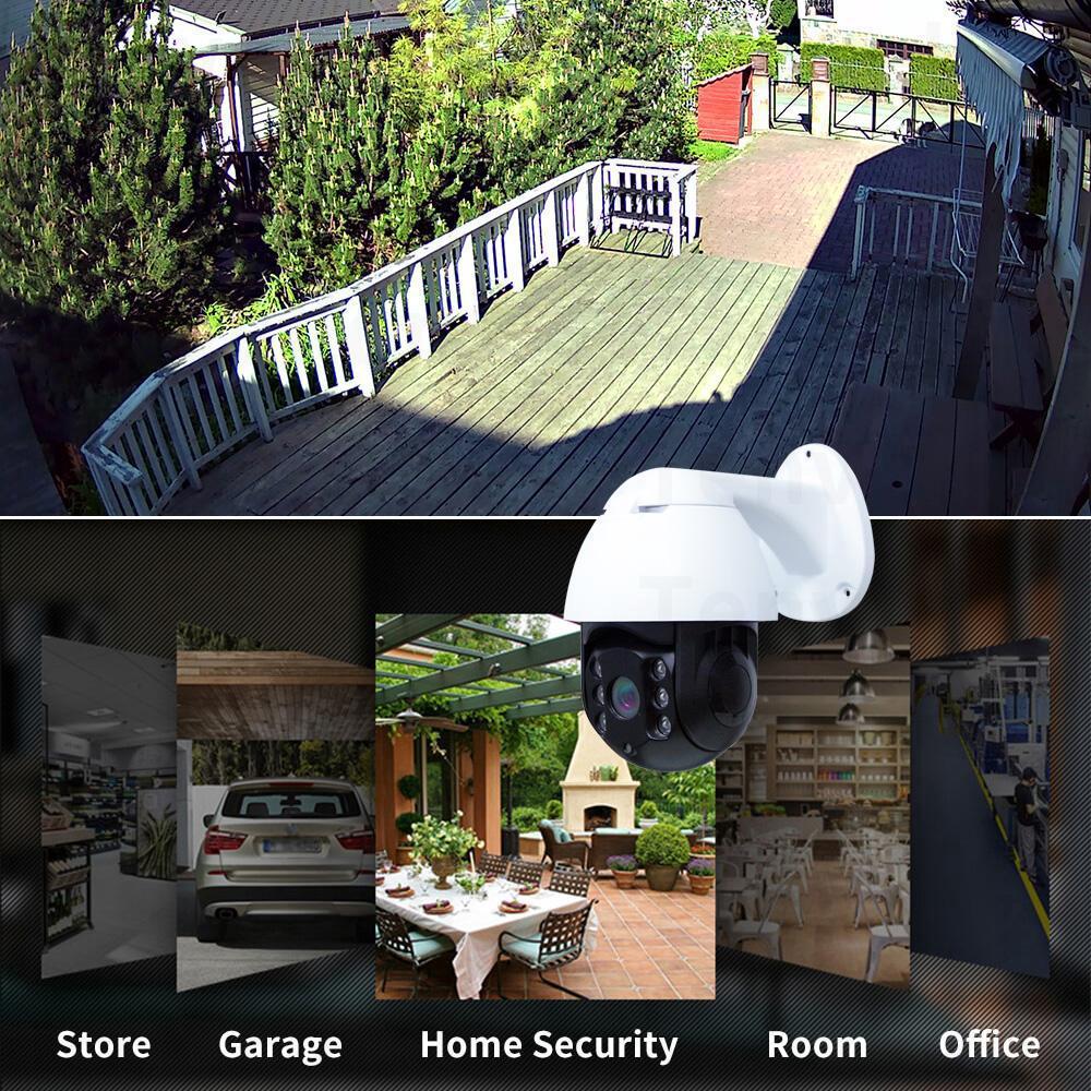 Care APP - Outdoor IP Camera 1080P 2MP HD WiFi Waterproof CCTV ONVIF