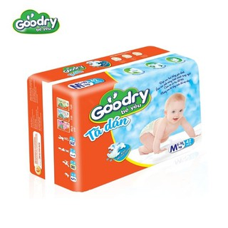 Tã dán Goodry M28 (5-10kg) – Công nghệ Nhật Bản, Màng đáy thoáng khí 100% ngăn ngừa hăm tã