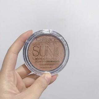 Phấn tạo khối CATRICE Sun Glow Matt Bronzing Powder - Không Thấm Nước thumbnail