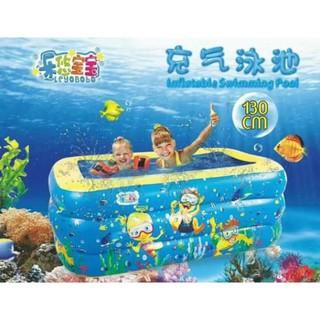 Bể Bơi 1m3 3 tầng to đẹp
