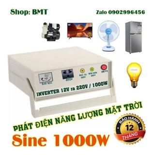 Máy phát điện năng lượng mặt trời 1000W Sine chuẩn mini thumbnail