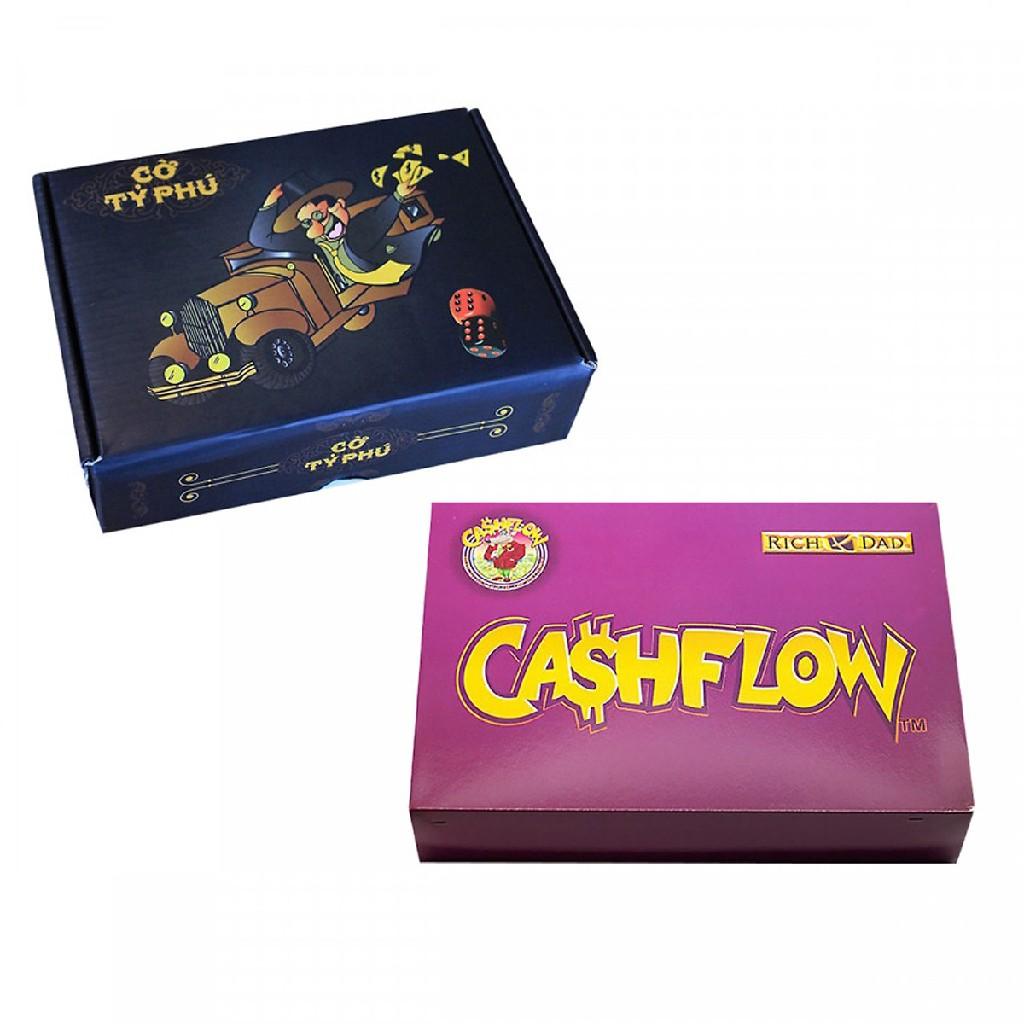 Game SET Học Làm Giàu: Combo CashFlow + Cờ Tỷ Phú Việt Nam - 22368671 , 3103367620 , 322_3103367620 , 1258200 , Game-SET-Hoc-Lam-Giau-Combo-CashFlow-Co-Ty-Phu-Viet-Nam-322_3103367620 , shopee.vn , Game SET Học Làm Giàu: Combo CashFlow + Cờ Tỷ Phú Việt Nam