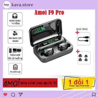 Tai Nghe Bluetooth AMOI F9 Pro Âm Thanh True Wireless - Chuyên Gaming cho Iphone và Android bản Quốc Tế 2021 Kava Store