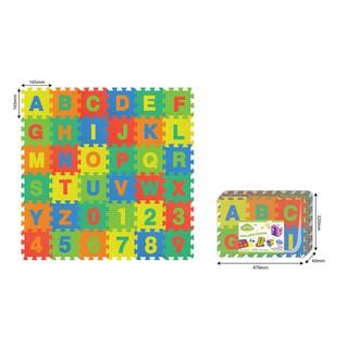Đồ chơi trẻ em thảm xốp ghép hình Số 10 miếng và chữ 26 miếng PAMAMA P0303