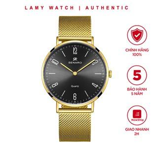 Đồng hồ nam SENARO Every Time Large 66016GBG thương hiêu Nhật Bản - LAMY WATCH thumbnail