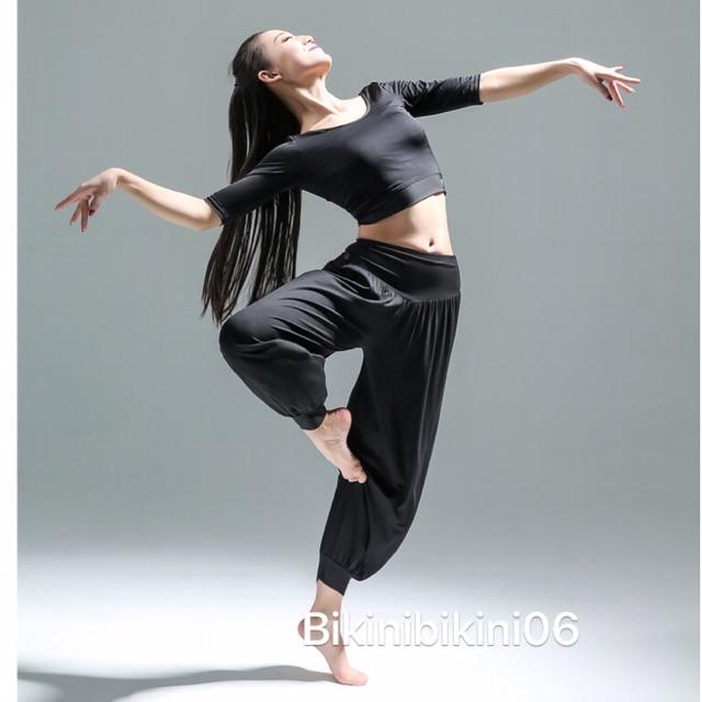 Quần alibaba tâp yoga múa bụng
