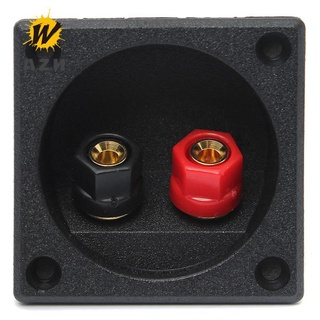 New Square Board Binding Post Speaker Box Terminal Connector