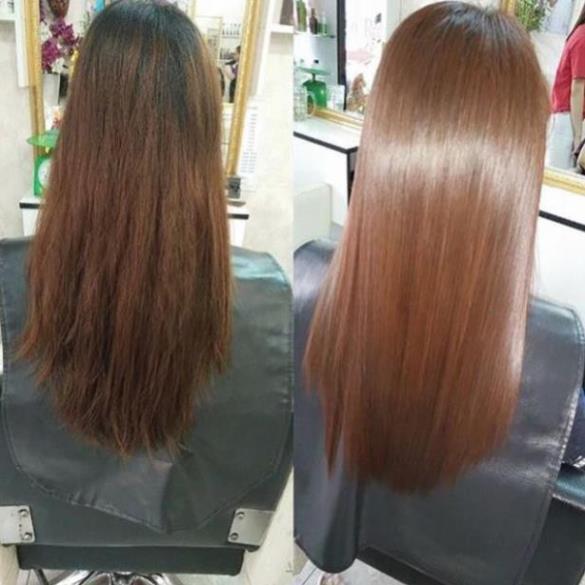 Ủ tóc hấp phục hồi tóc kem hấp hấp tóc Pallamina Collagen Keratin túi 500ml