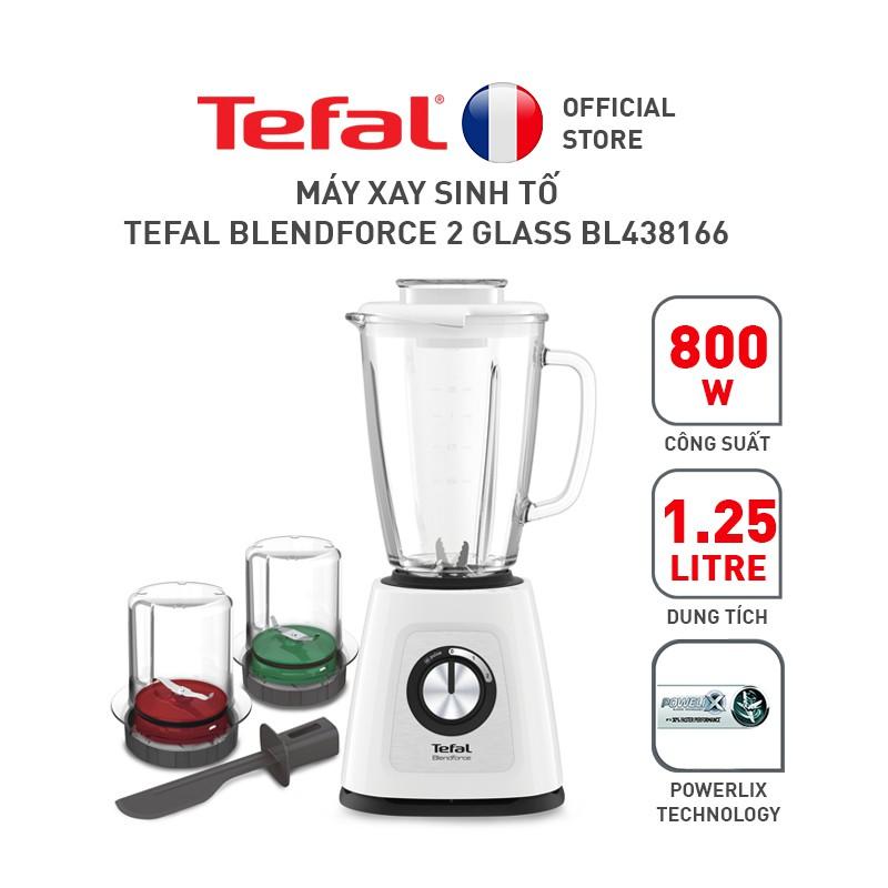Máy xay sinh tố Tefal Blendforce 2 Glass BL438166