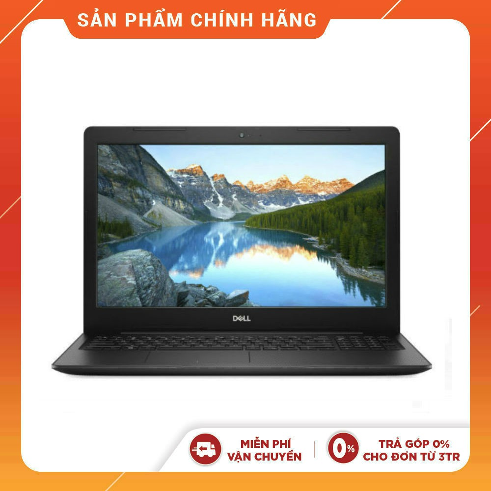 [Mã ELLAPDESK giảm 5% đơn 3TR] Laptop Dell Vostro 3580 V3580I (Đen) i5-8265U I 4GB I 1TB I Radeon 520 2GB I 15.6FHD I