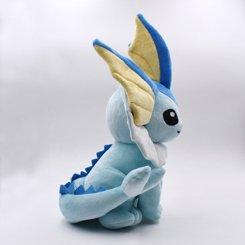 2020 Cartoon Anime Vaporeon Eevee Peluche Toy 24cm Sitting Eevee Soft Stuffed Doll Classic Baby Plush Toys Christmas Gifts