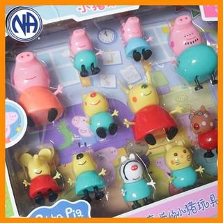 Gia đình nhà lợn đồ chơi