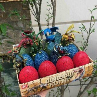Trứng khủng long 1 hộp 12 trứng