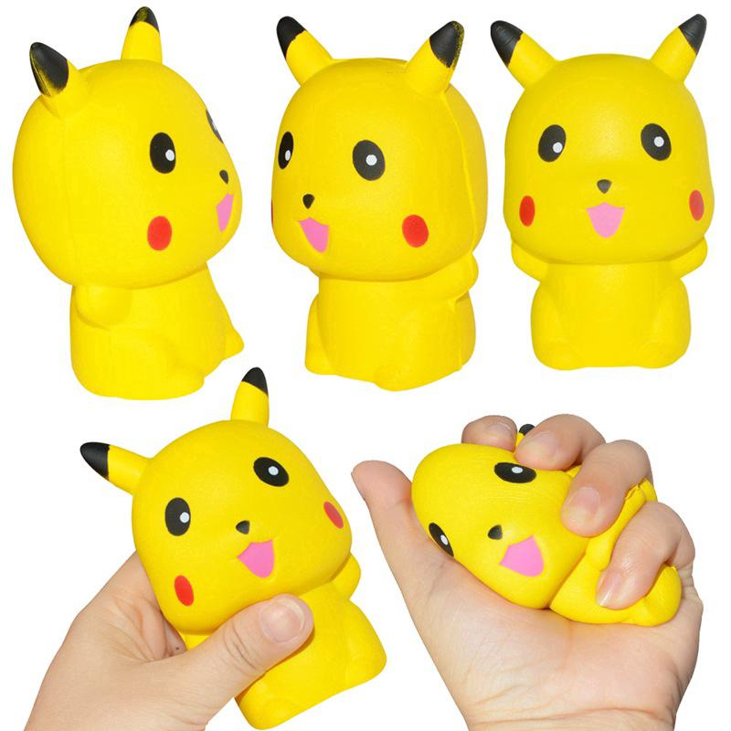 Slow Rebound Squishy Simulation Doll Anime Cartoon Figure