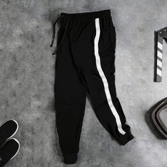 FREESHIP ĐƠN 99K_BIGSIZE Quần jogger 1 sọc - NAM NỮ (có bigs
