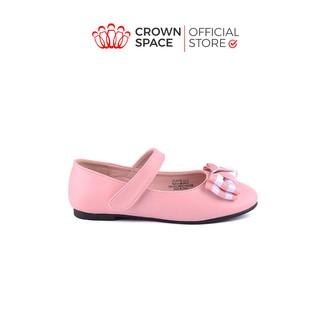 Giày Búp Bê Bé Gái Đi Học Đi Chơi Crown Space UK Ballerina Trẻ Em Cao Cấp CRUK3118 Nhẹ Êm Thoáng Size 27-31 4-14 Tuổi thumbnail