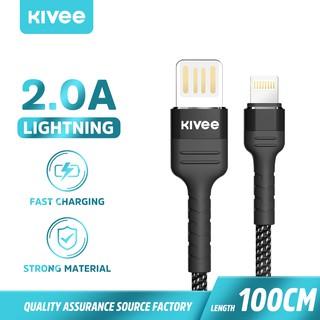 KIVEE CB05 Cáp sạc Micro USB sạc nhanh 1m cho MP3 MP4 Redmi Oppo Vivo Samsung thumbnail
