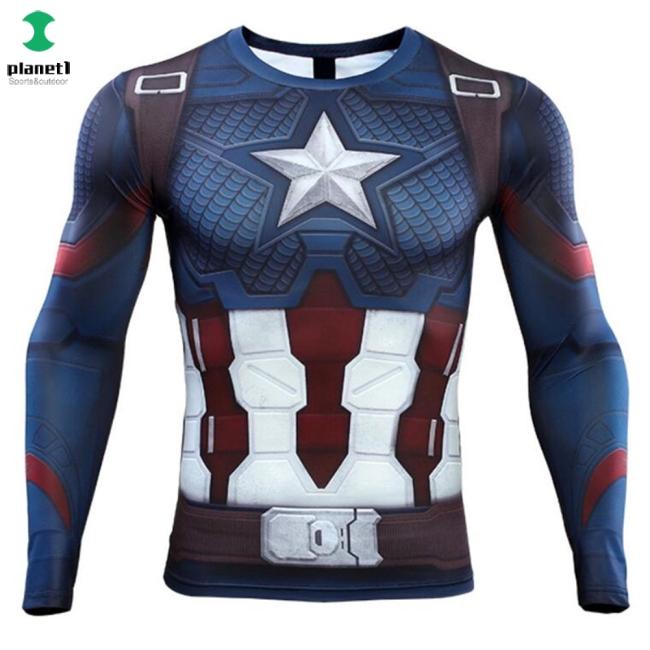 Áo thun hóa trang nhân vật Captain America