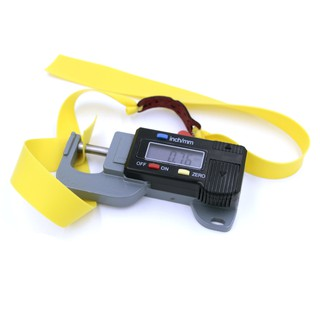 01 Dây chun dẹp Precise 0.75mm (Màu vàng)