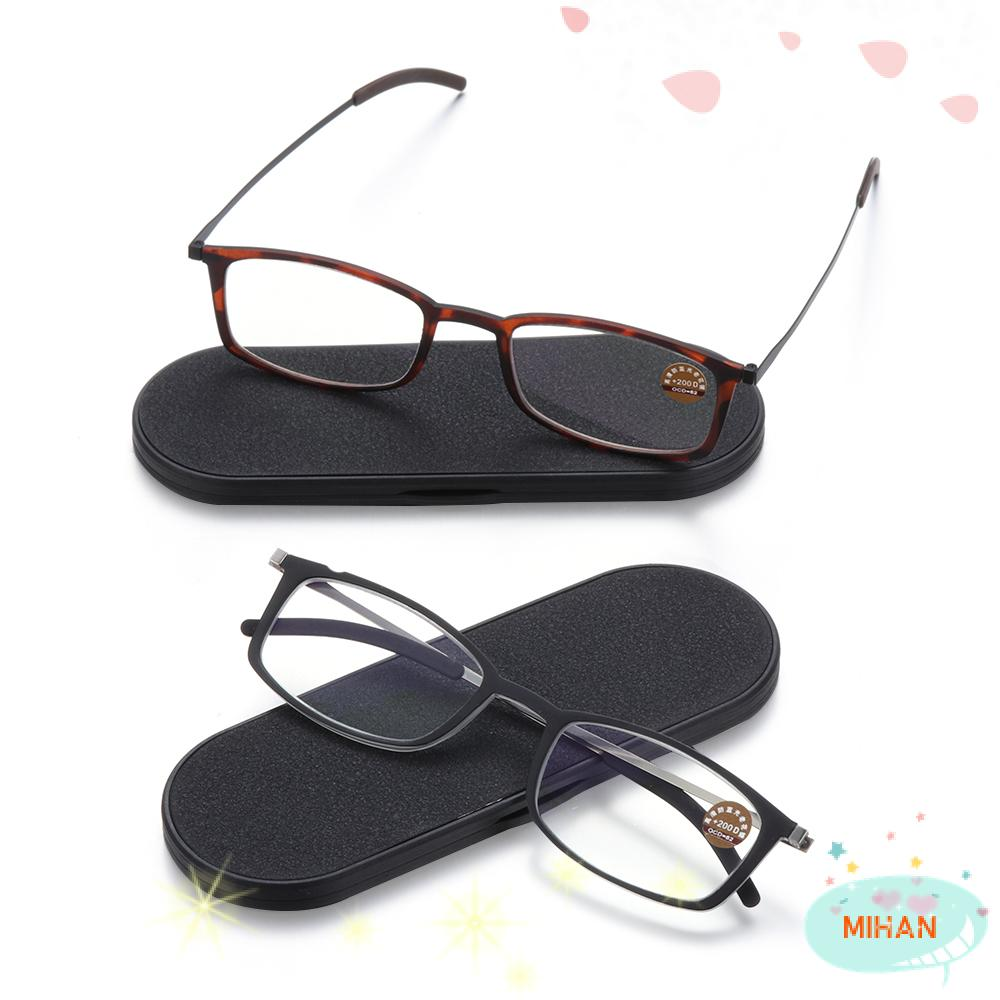 MIHAN1 Diopters +1.5, +2.0, +2.5 Portable Paper Type Ultralight Ultra-thin Reading Glasses
