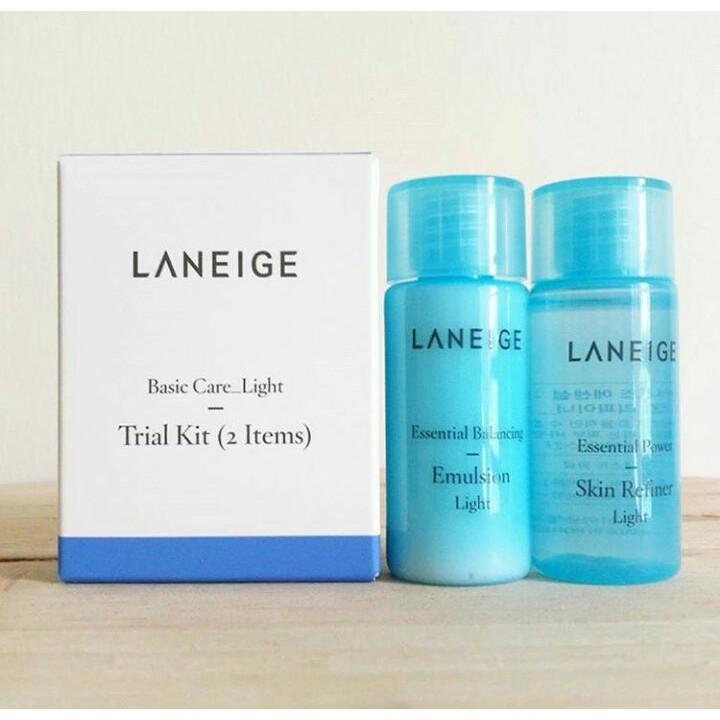 Bộ Dưỡng Da Laneige Basic Care _ Light Trial Kit (2 Items) - 2555406 , 692142296 , 322_692142296 , 70000 , Bo-Duong-Da-Laneige-Basic-Care-_-Light-Trial-Kit-2-Items-322_692142296 , shopee.vn , Bộ Dưỡng Da Laneige Basic Care _ Light Trial Kit (2 Items)