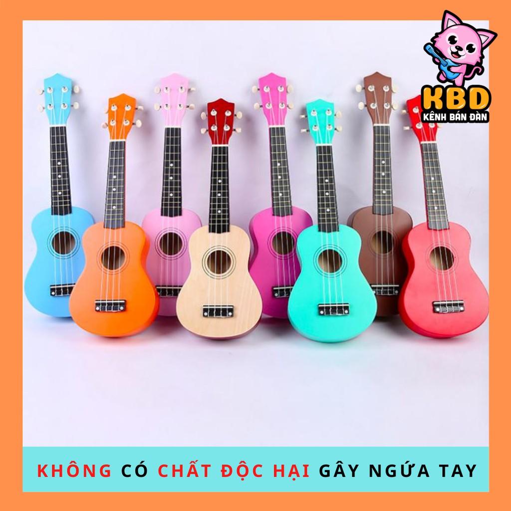 [GỖ KHÔNG PHẢI NHỰA][KHÔNG NGỨA TAY] Đàn ukulele soprano tặng kèm pick gãy