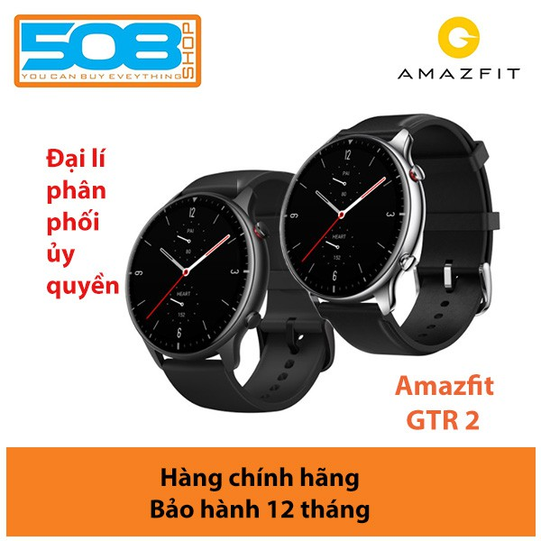 Đồng hồ Amazfit GTR 2, Đồng hồ thông minh Amazfit GTR 2 - Bản quốc tế - Bảo hành 12 tháng chính hãng Digiworld