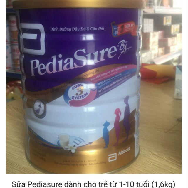 Sữa Abbott Pediasure dành cho trẻ từ 1-10 tuổi (1,6kg)