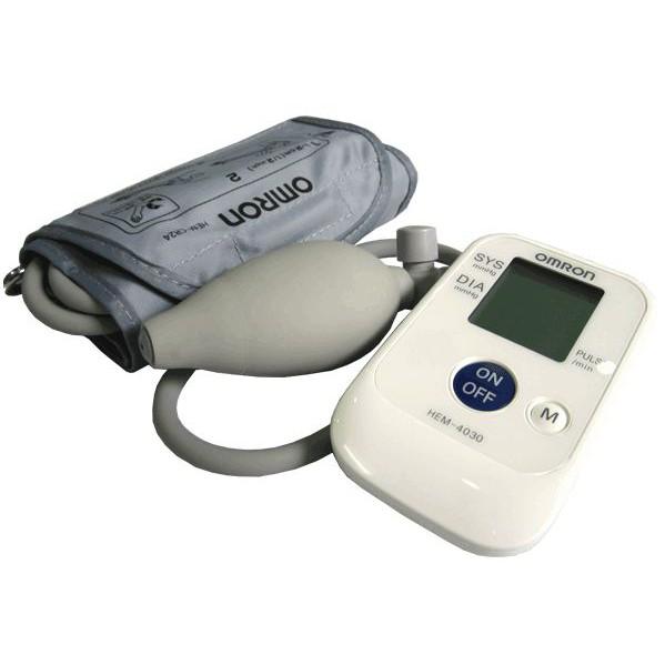 Máy đo huyết áp bắp tay bán tự động OMRON HEM-4030 tặng dụng lấy ráy tai có đèn - 3112118 , 1197319061 , 322_1197319061 , 600000 , May-do-huyet-ap-bap-tay-ban-tu-dong-OMRON-HEM-4030-tang-dung-lay-ray-tai-co-den-322_1197319061 , shopee.vn , Máy đo huyết áp bắp tay bán tự động OMRON HEM-4030 tặng dụng lấy ráy tai có đèn