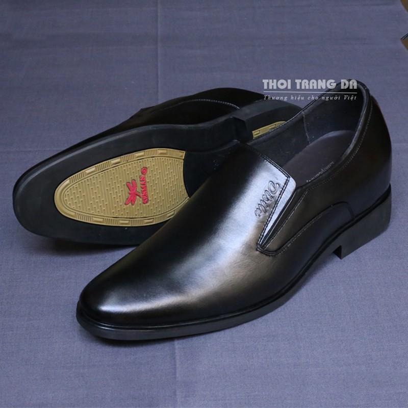 Giày lười công sở GLMM70 đế tăng chiều cao 6.5 cm