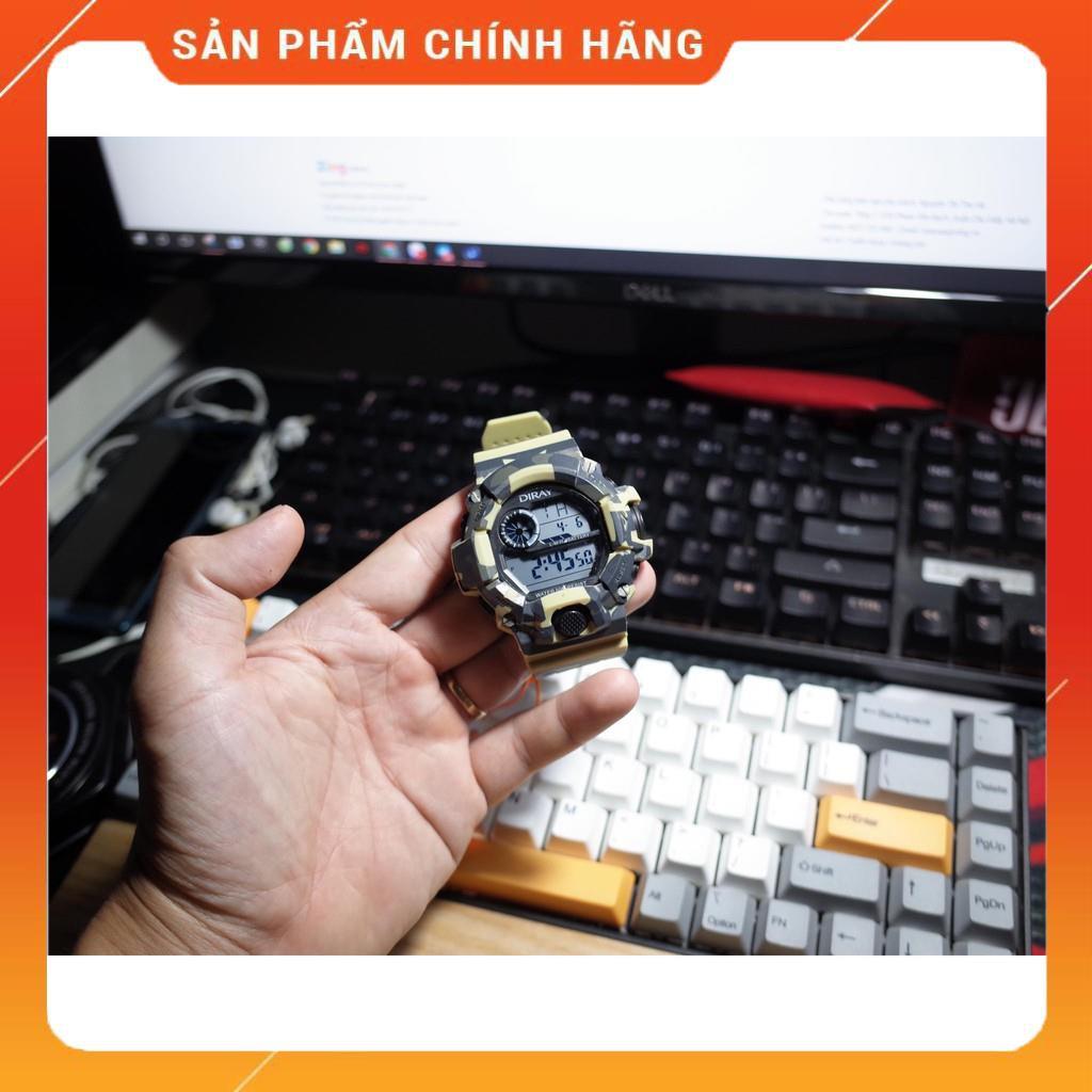 Đồng hồ Nam Diray ARMY siêu bền - chống nước,chống sốc tuyệt đối - Máy Nhật,BH 12 tháng - Website : donghodiray.com