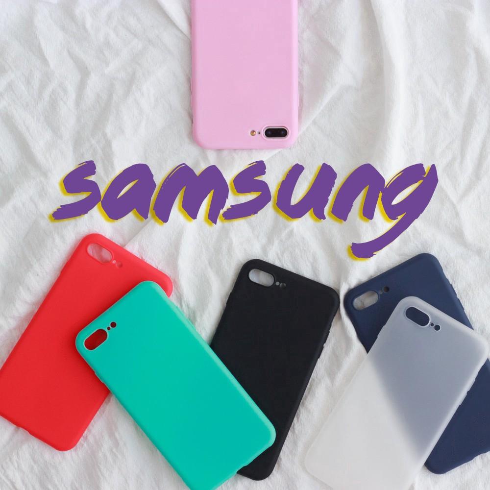 Ốp điện thoại màu trơn thời trang cho Samsung Galaxy J5 Pro/ J7 Pro /J7 Prime