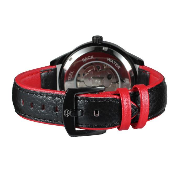 Đồng hồ nam Forsining A1 cơ lộ máy dây da kiểu dáng thể thao