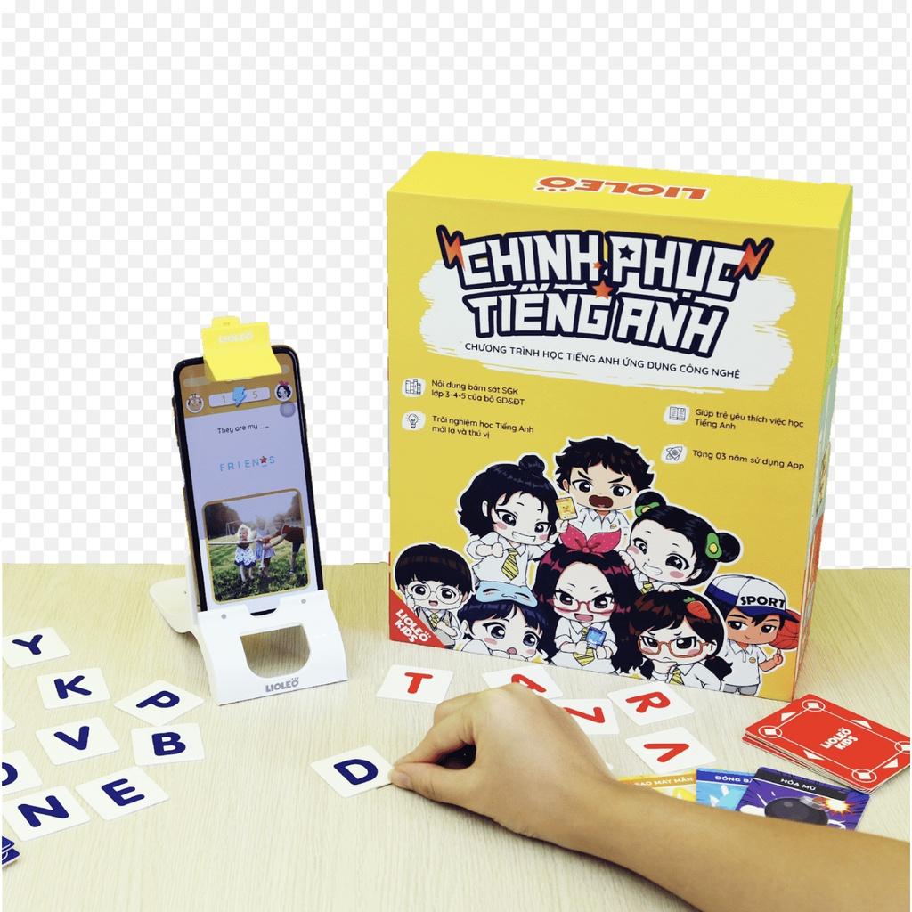 [Mã INCU50 giảm 50k đơn 250k] Bộ đồ chơi tiếng anh ứng dụng công nghệ Lioleo kids