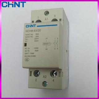 Khởi động từ 1 pha CHINT NCH8-25/20 NCH8-40/20 NCH8-63/20 25A 40A 63A 220V
