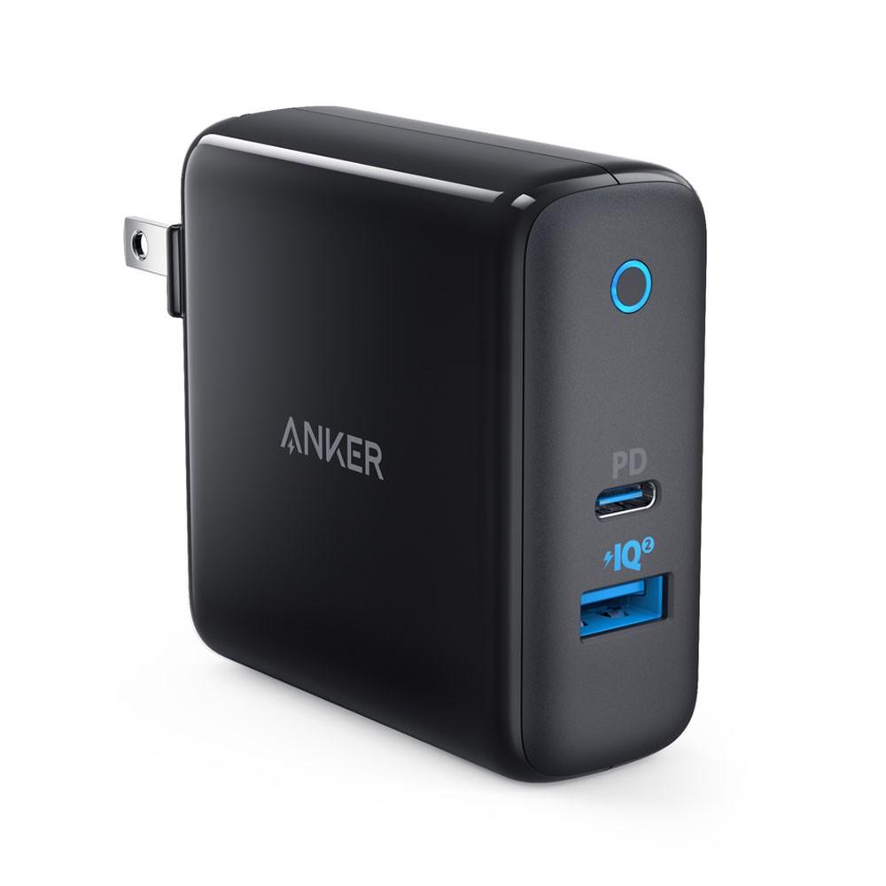 [Mã 267ELSALE hoàn 7% đơn 300K] Cốc sạc ANKER PowerPort II PD 49.5W USB Type C Power Delivery & USB PowerIQ 2.0 - A2321