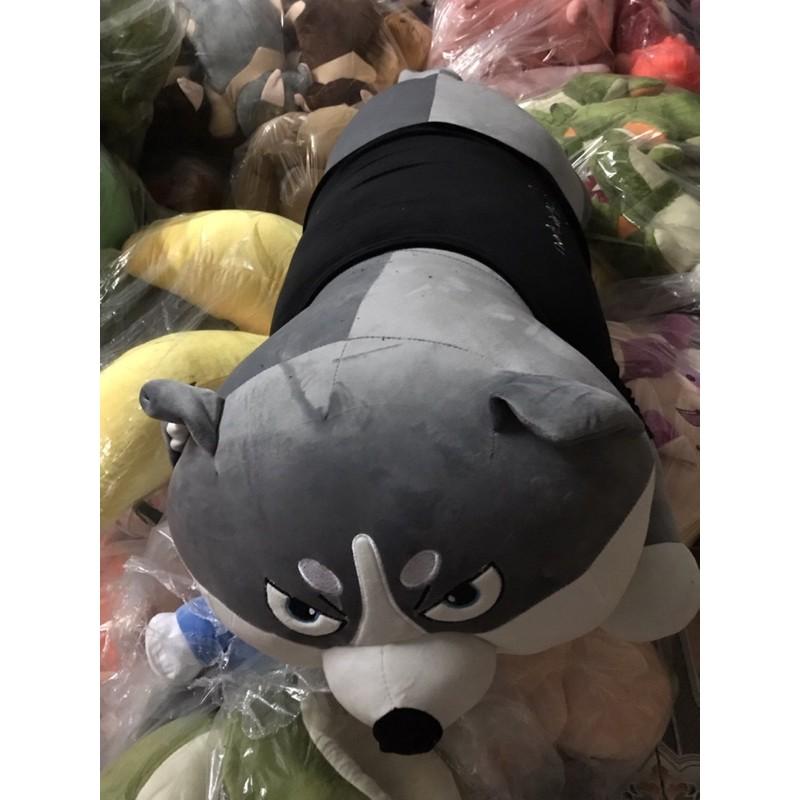 ❤️Sỉ giá Xưởng Chó Bông Husky, Gấu Bông Chó Husky Chó Sói Ngáo Siêu To Mềm Êm Đẹp