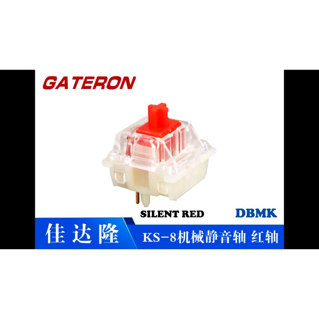Gateron Red Silent - Công tắc phím cơ