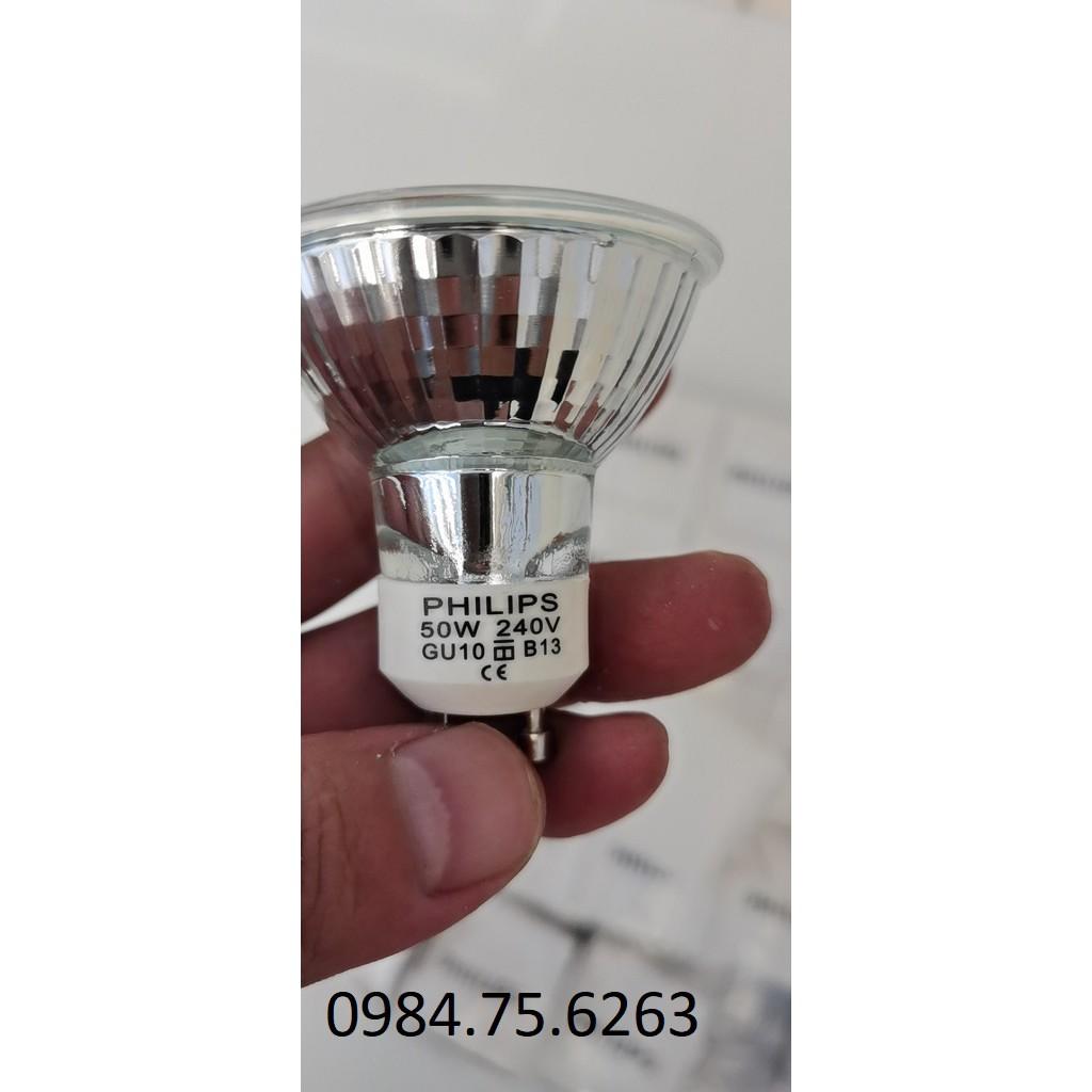 Bóng đèn đốt nến - Bóng Đèn halogen chén PHILIPS 220V 50W GU10