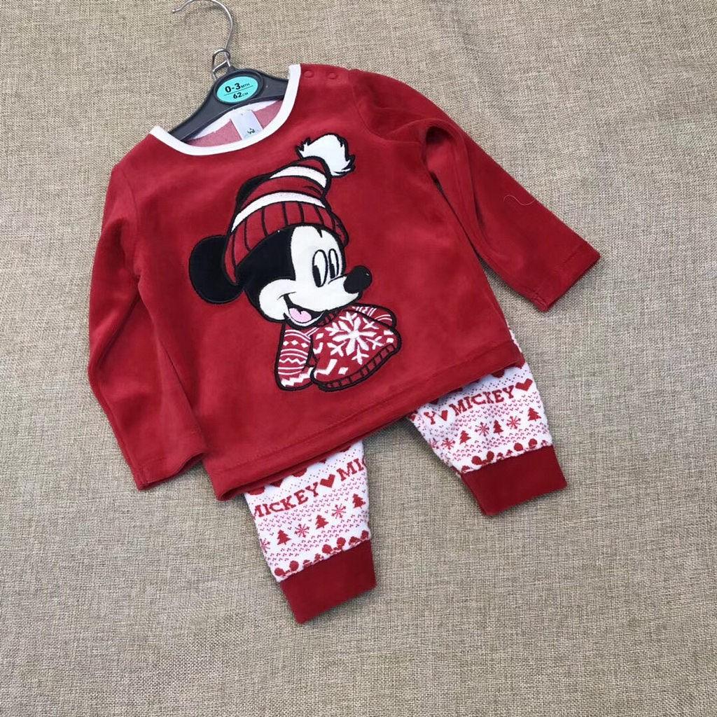 M1682 - Bộ disney Mickey noel bé gái