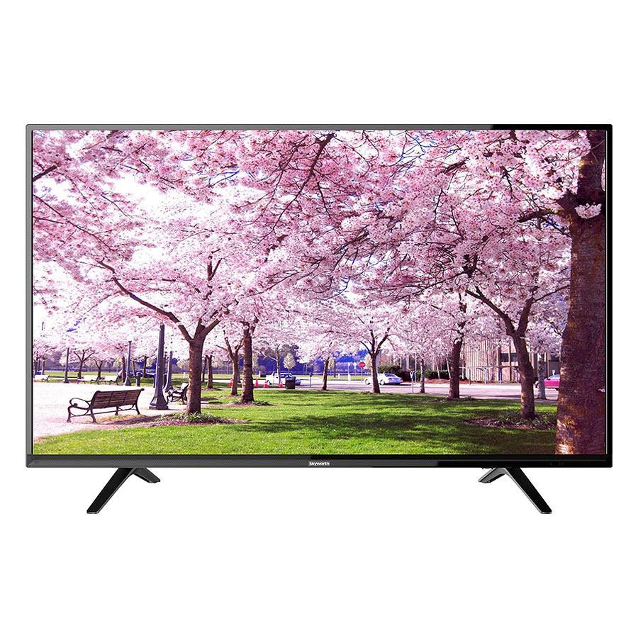 MIỄN PHÍ LẮP ĐẶT_Tivi LED Skyworth 32inch HD – Model 32E2A12G (Đen) - Hãng phân phối chính thức